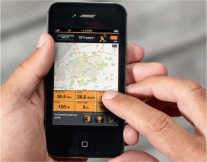 Option: Smartphone statt Bedienungsdisplay.