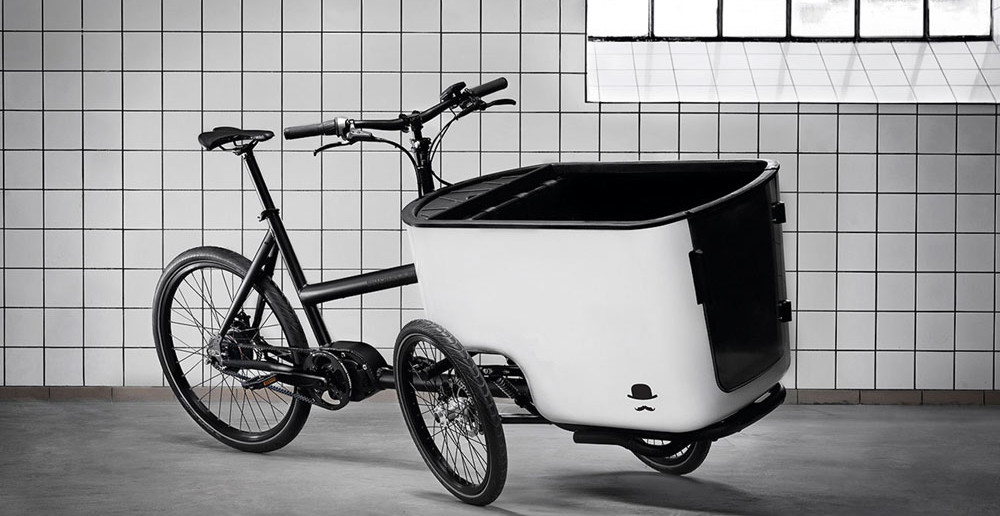 Der neue SUV mit Style unter den dreirädrigen Kindertransportern: Das Butchers & Bicycles aus Kopenhagen.