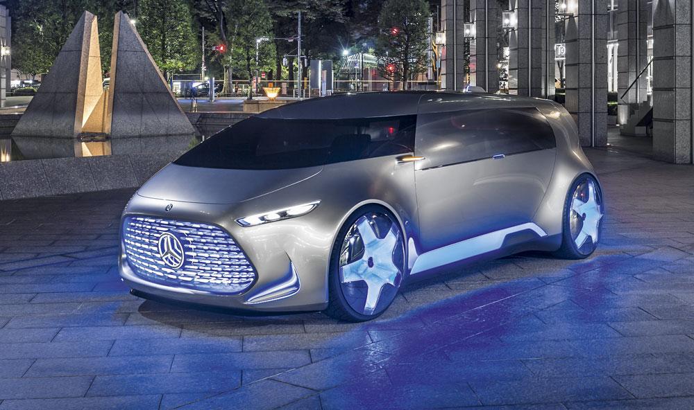 Mercedes Benz Tokyo Vision