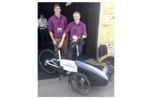 Das autonom fahrende Veleon wurde nach der Eurobike von CoModule auch auf der IAA in Frankfurt präsentiert.