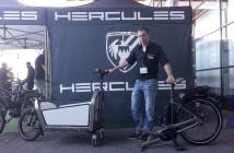 Teilbar sind andere Cargo-Bikes auch. Neu beim Cargo von Hercules ist die Nutzbarkeit des Vorderteils als Einkaufswagen.