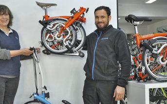 Jetzt auch Brompton-Falträder bei Fahrradservice Ranzinger