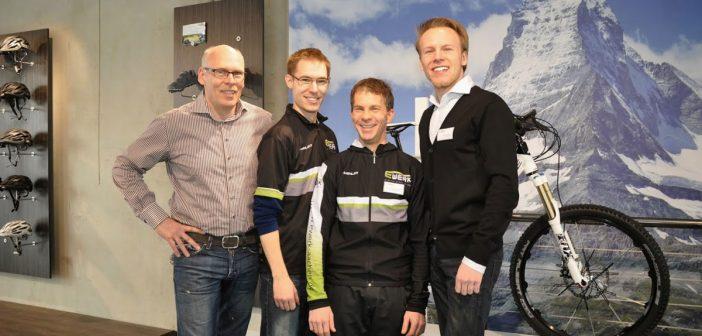 Ewerk-Inhaber Dennis Stöbe (re.) und sein Team