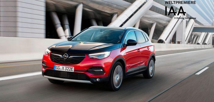 Opel Grandland X Hybrid4: