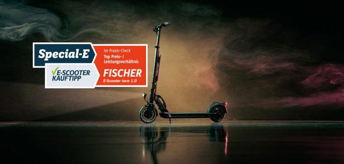 Praxis-Check: Fischer E-Scooter ioco 1.0