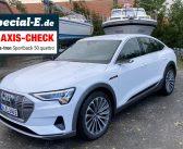 Praxis-Check: Audi e-tron Sportback 50 quattro