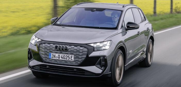 Probefahrt: Audi Q4 e-tron