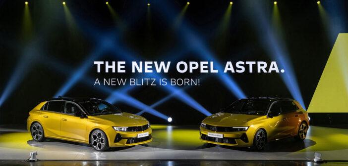 Neuheiten: Opel Astra L